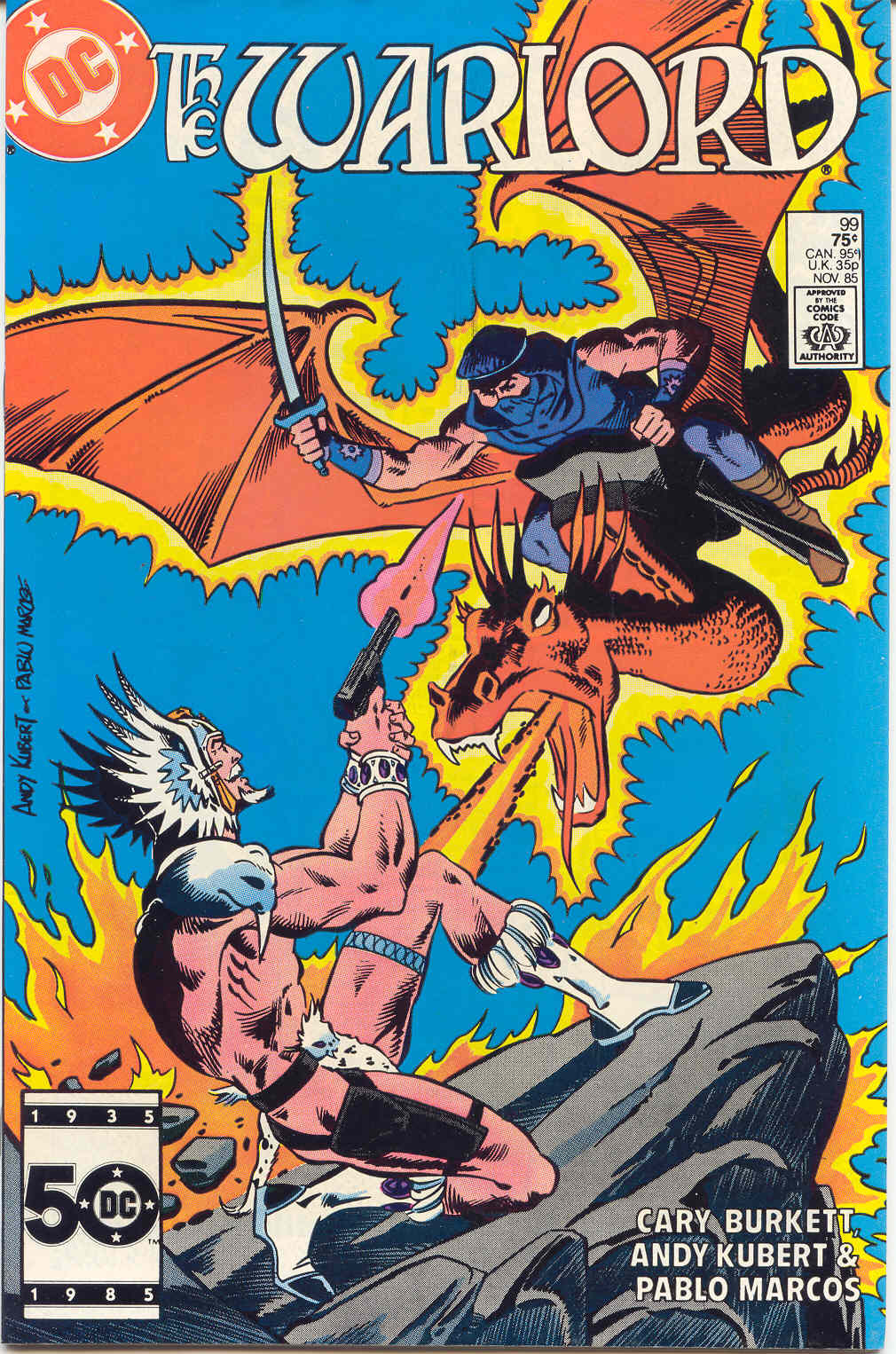 Warlord (1976) 99 Page 1