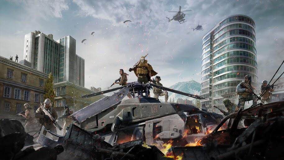 Call of Duty, Warzone, 4K, #7.1587
