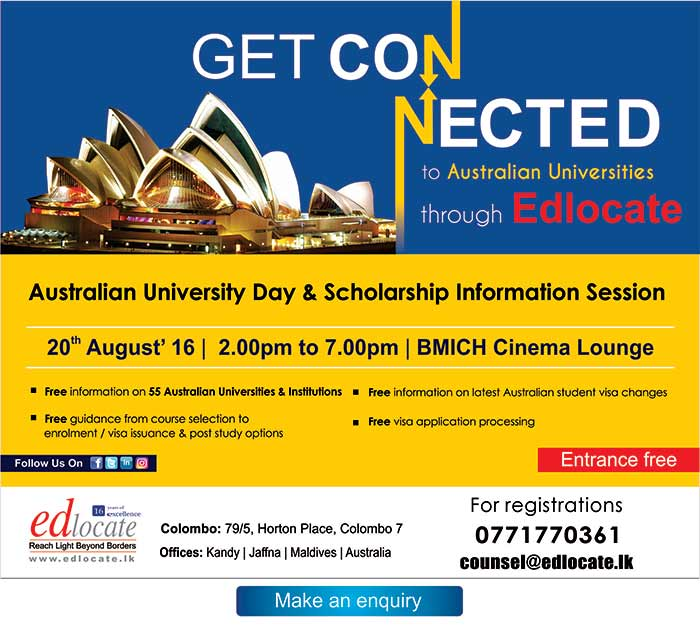 The Australian University Day with Scholarship Information Session