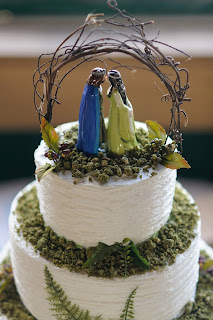 Simple Lord of The Rings LOTR Wedding Cake