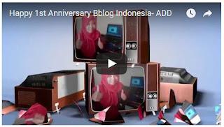 Video Ucapan Ultah BBlog