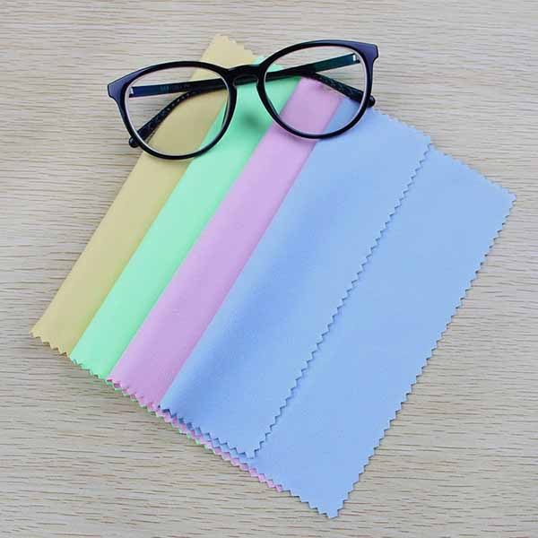 قماش تنظيف النظارات - يمكن إستخدامه لتنظيف عدسة كاميرا الهاتف المحمول