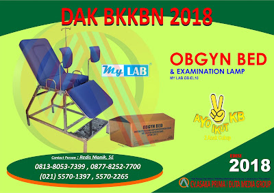 distributor produk dak bkkbn 2018, kie kit bkkbn 2018, genre kit bkkbn 2018, plkb kit bkkbn 2018, ppkbd kit bkkbn 2018, obgyn bed 2018, iud kit 2018,