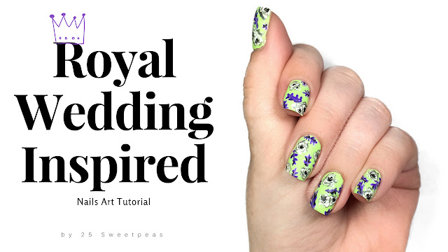 Royal Wedding Nail Art