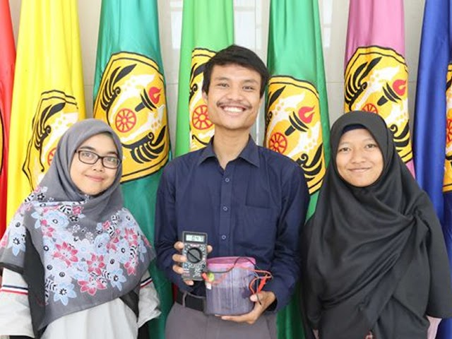 Mahasiswa FMIPA Unpad Olah Limbah Tahu Sumedang Jadi Sumber Listrik