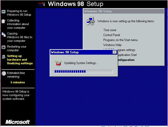 Rmprepusb easy2boot and usb booting install windows 98se for Window 98 iso