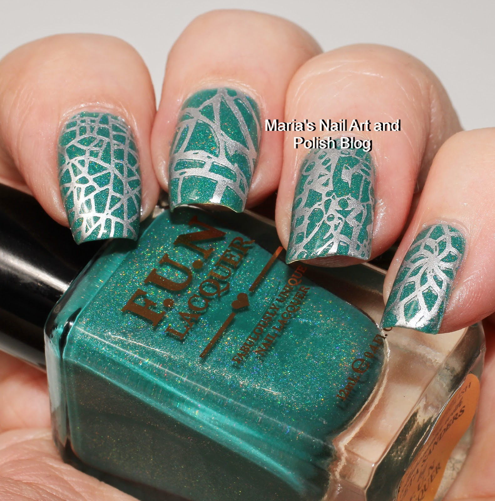 L B K Nail Lacquers Are Unique And Beautiful Giveaway: Marias Nail Art And Polish Blog: Messy Mansion Stamping