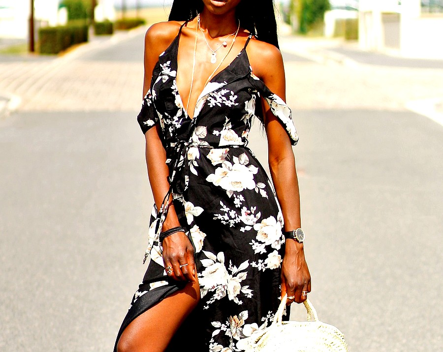 robe-missguided-imprime-floral