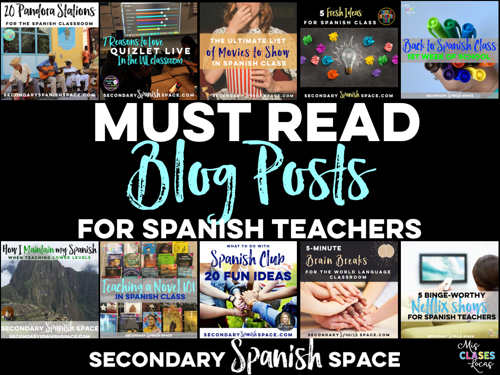Must Read Blog Posts for Spanish Teachers