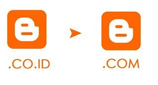 Cara Merubah blogspot .co.id Menjadi .com Di Blogger
