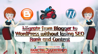 Migrate from blogger to WordPress without loosing rank