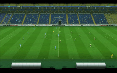 PES 2013 Fenerbahce Sukru Saracoglu Update Stadium Board Uefa Europa League 15/16 by Sevak