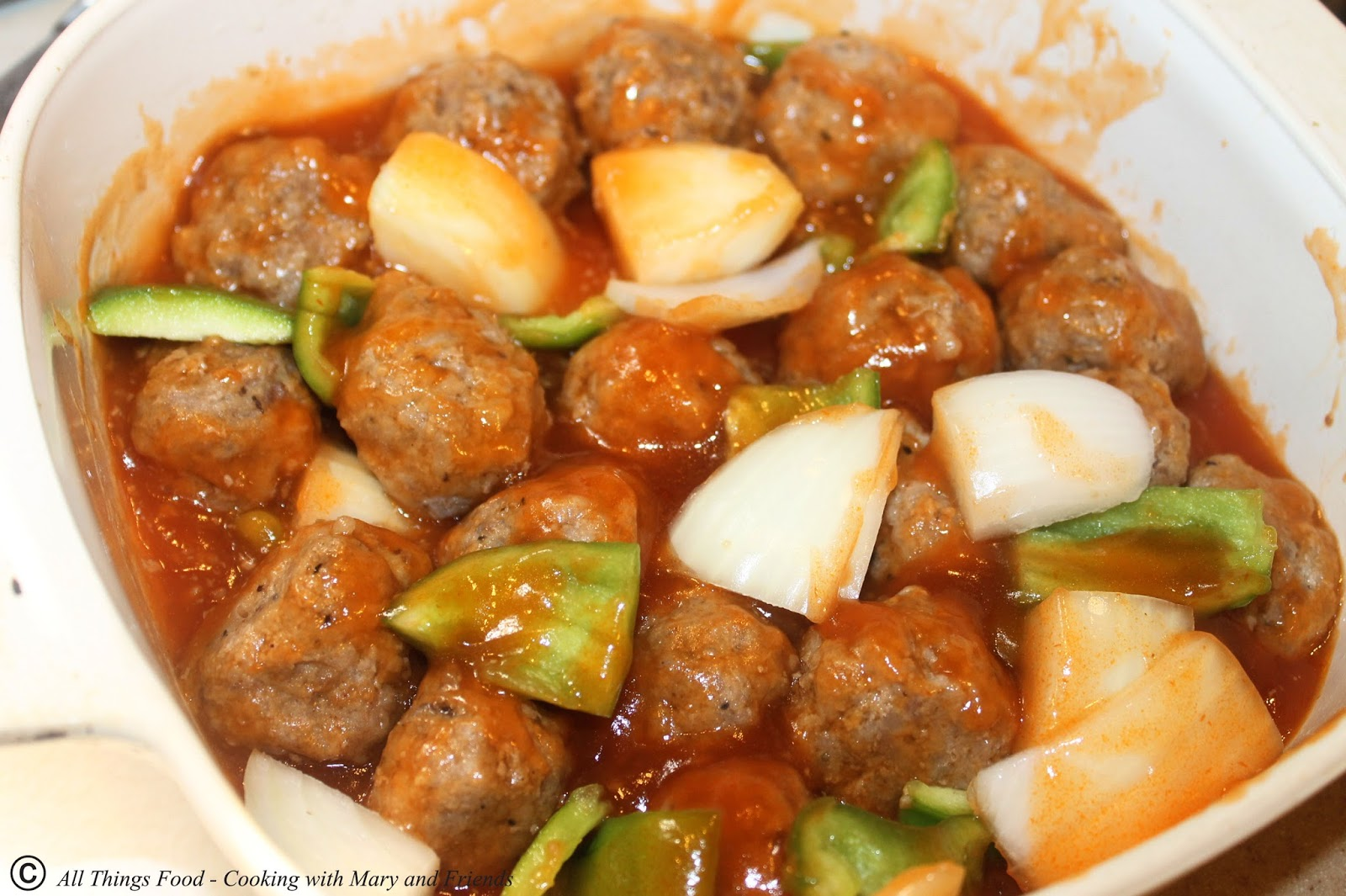 Cooking With Mary and Friends: Sweet and Sour Pork Meatballs