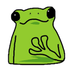 A frog comes back