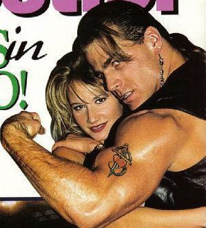 shawn michaels and sunny relationship