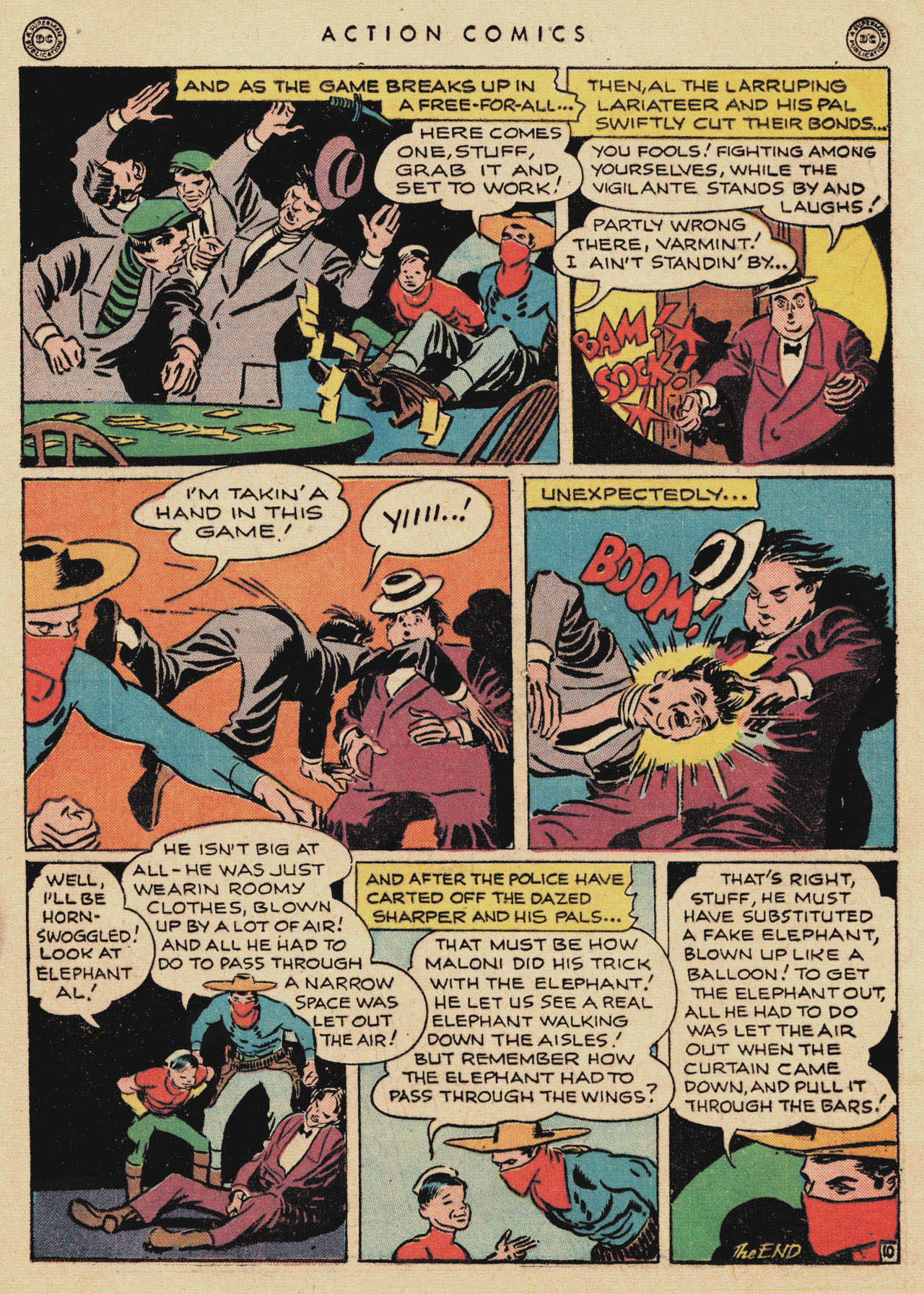 Read online Action Comics (1938) comic -  Issue #94 - 31