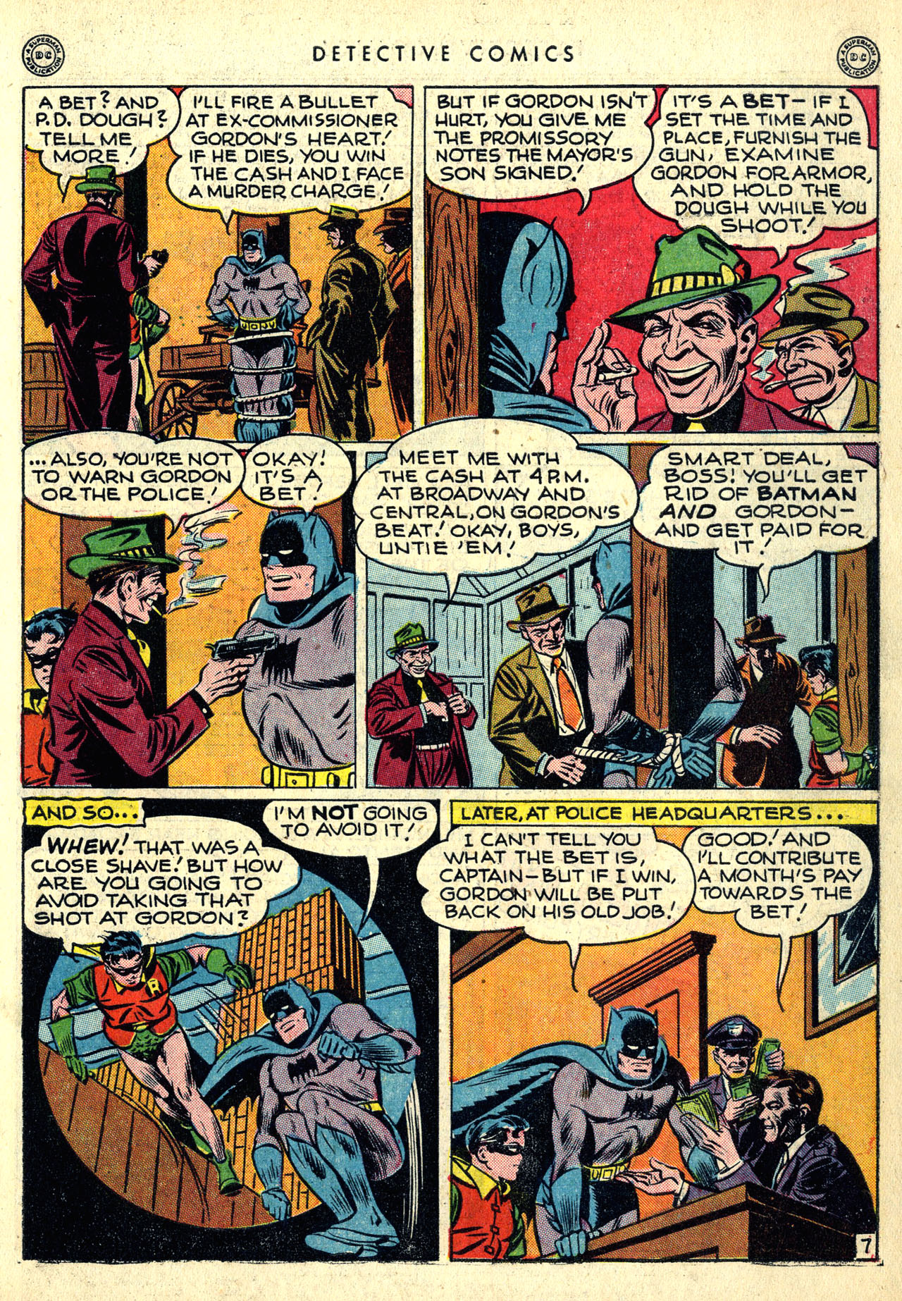 Read online Detective Comics (1937) comic -  Issue #121 - 9
