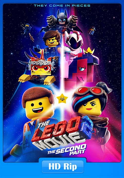 The Lego Movie 2 The Second Part 2019 720p HDRip x264 | 480p 300MB | 100MB HEVC Poster