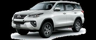 giá xe Fortuner Toyota Hùng Vương