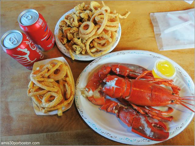 Lobster Shacks en Massachusetts: Cena en el JT Farnham's