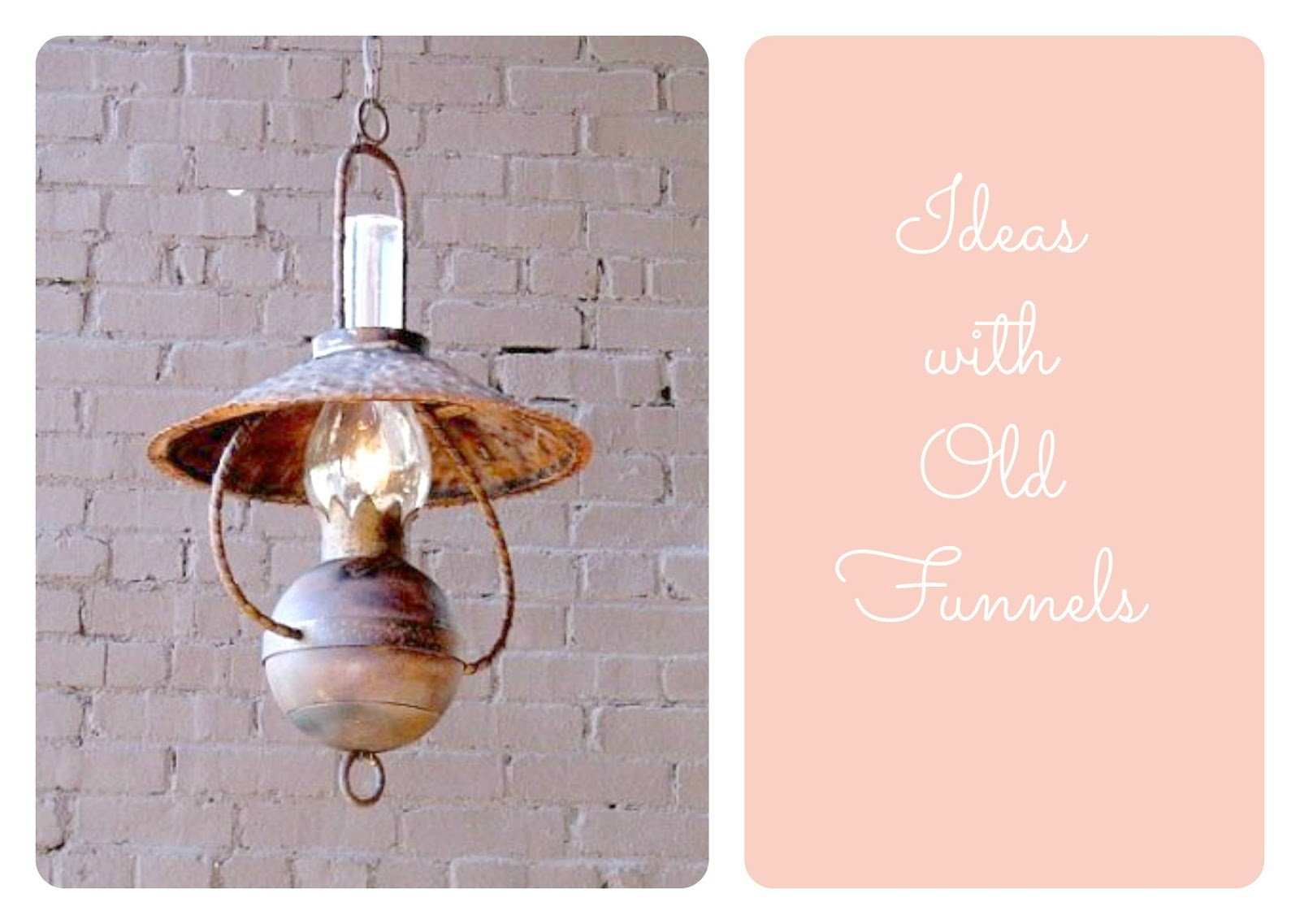 lampa z metalu