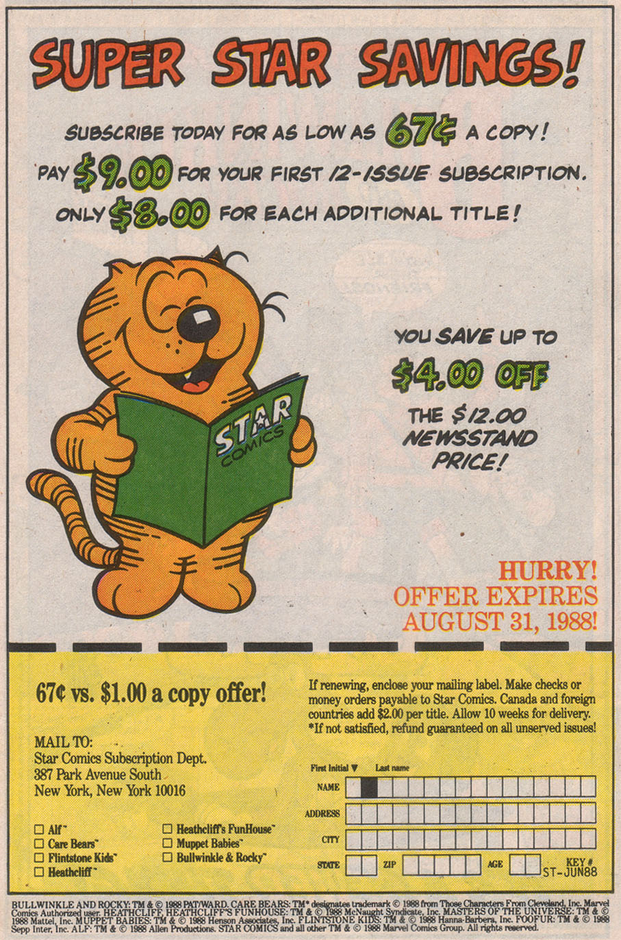 Read online ALF comic -  Issue #8 - 34