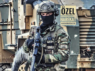 A Turkish Army Special Force Soldier