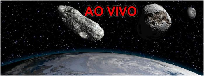 dois asteroides proximos da Terra