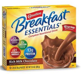 Carnation Nutritional Family Drink - Tasty Milk Chocolate Powder Mix Breakfast Smoothie
