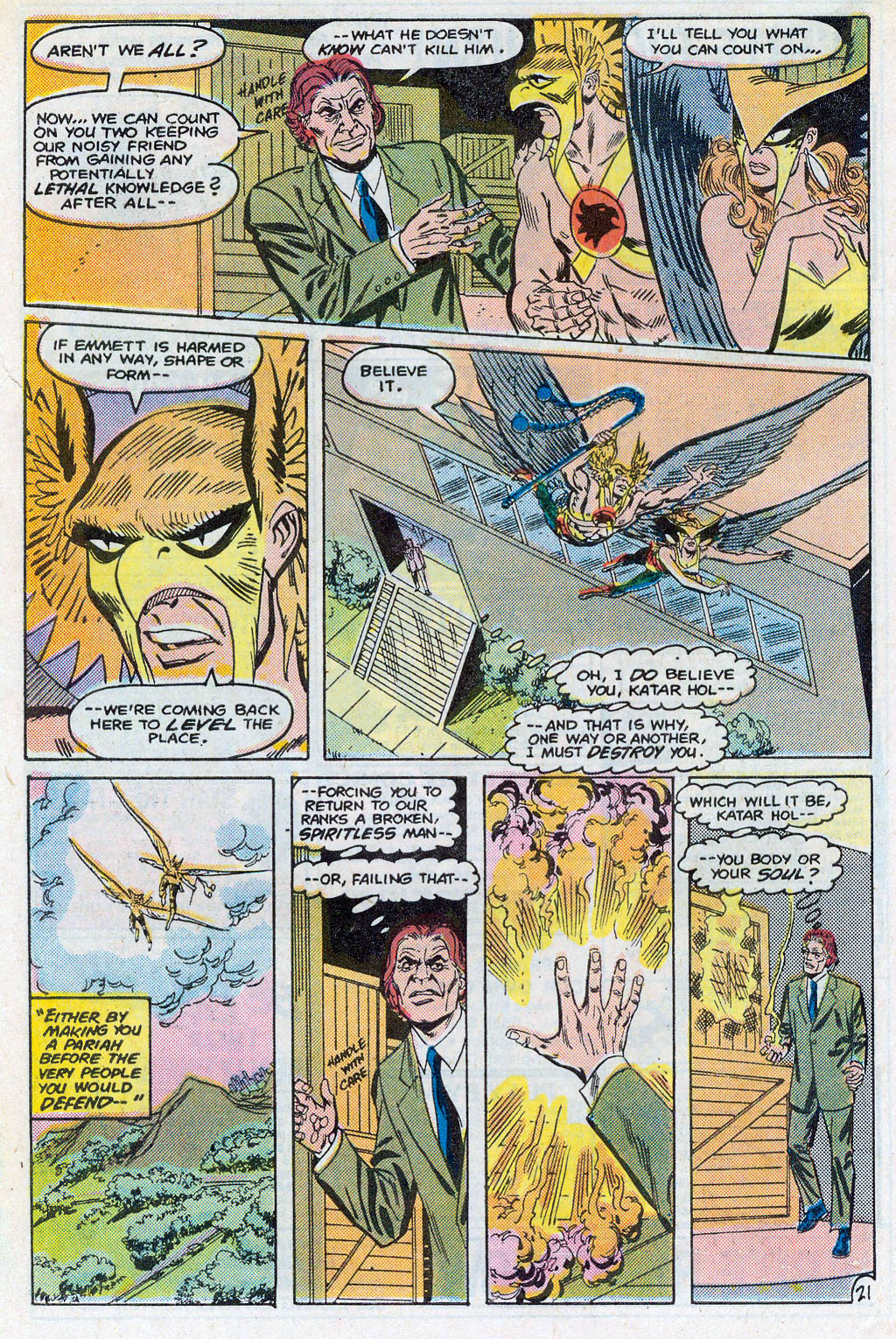 Hawkman (1986) Issue #3 #3 - English 24