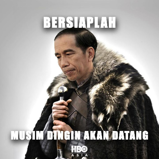 Isi Pidato Lengkap Jokowi yang Singgung Game of Thrones