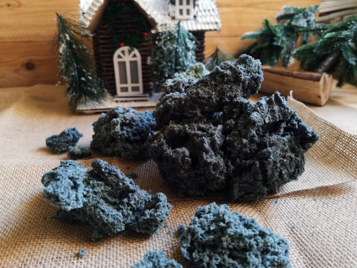 Como hacer carbon dulce