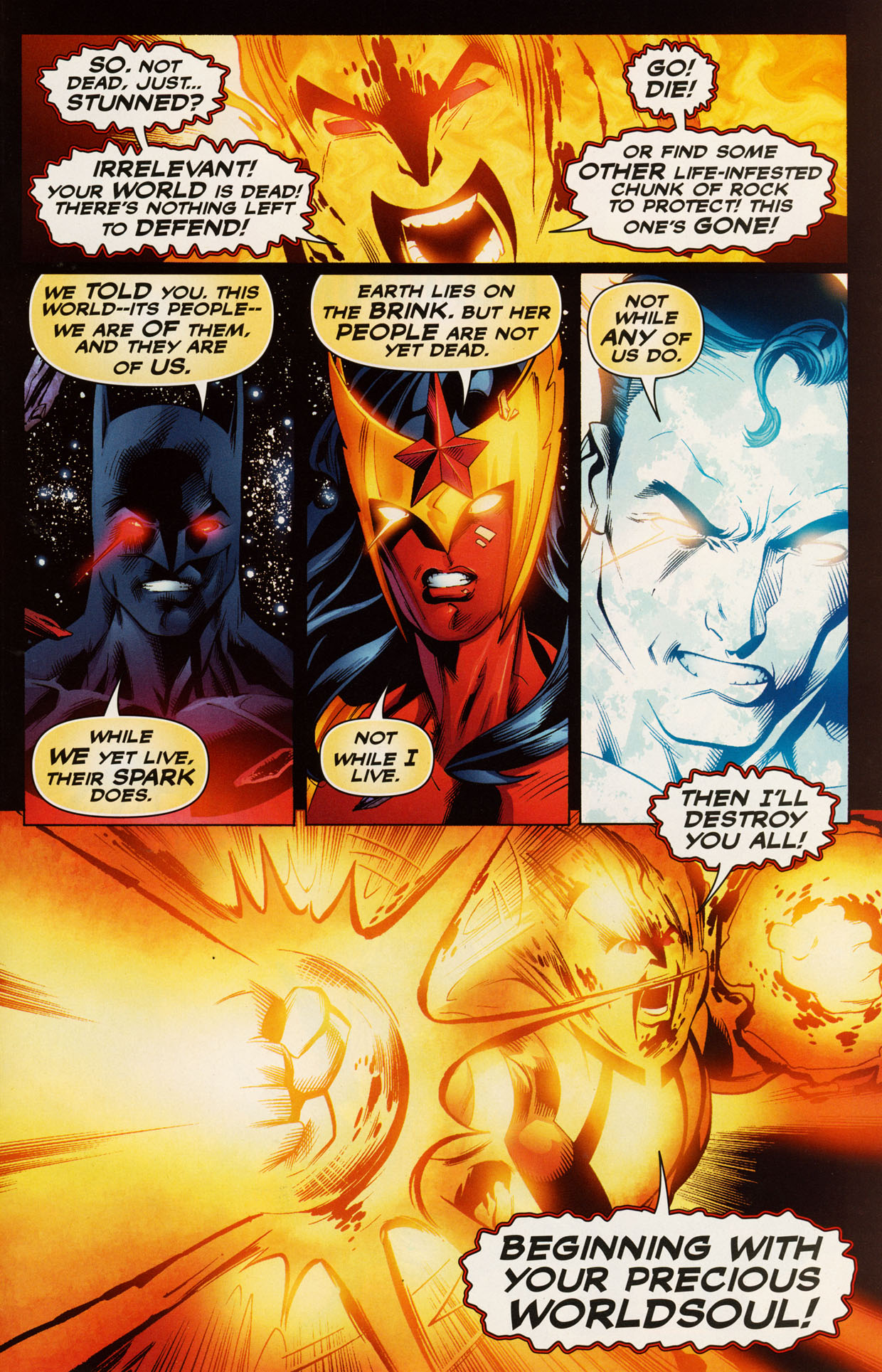 Read online Trinity (2008) comic -  Issue #50 - 21