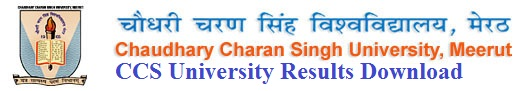 CCS University Results 2017 for BA, Bcom, Bsc MA B.Ed Download at ccsuniversity.ac.in