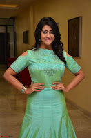 Pooja Jhaveri in Beautiful Green Dress at Kalamandir Foundation 7th anniversary Celebrations ~  Actress Galleries 043.JPG