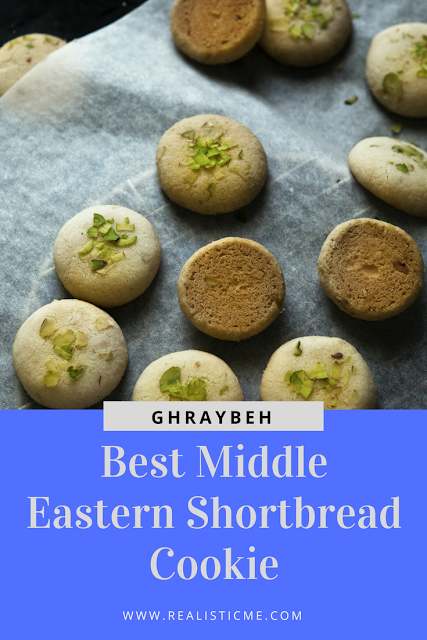 Ghraybeh: Best Middle Eastern Shortbread Cookie