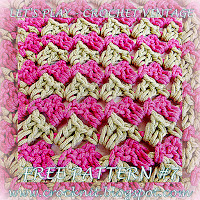 free crochet patterns, how to crochet, vintage, zig zag stitch,