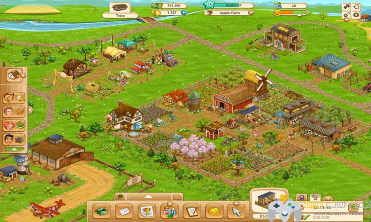 تحميل  لعبة المزرعة الكبيرة