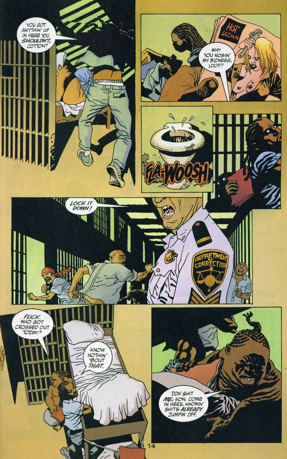 Read online 100 Bullets comic -  Issue #44 - 15