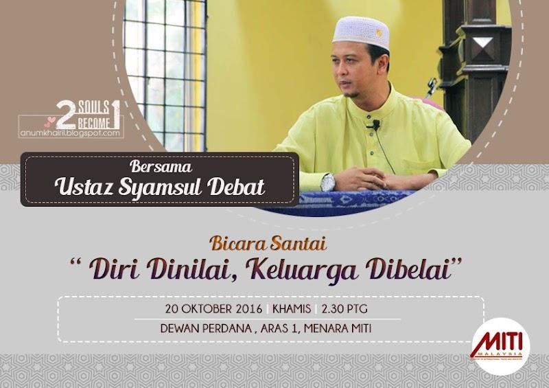 Program Bicara Santai Bersama Ustaz Syamsul Debat