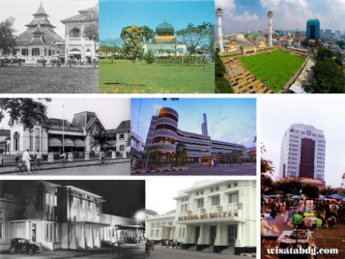Sejarah bangunan di Alun-Alun Bandung