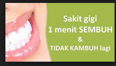 Obat Sakit Gigi Ampuh Langsung Sembuh Dengan Cepat Dari Tumbuhan