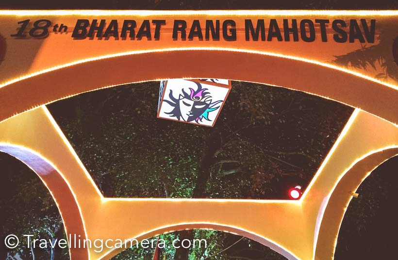 These days Bharat Rang Mahotsav  is happening at National School of Drama in Delhi. This is a month long festival of Theatre where national and international plays happen in different languages. You hear big names of the industry to act in these plays and lot of bollywood actors with theatre background can be seen roaming around. This year Pankaj Kapoor  also acted in one of the plays. This time, I couldn't manage to watch any play but found some time to go there in evening for Theatre Bazar and catch up with friends from NSD.All photographs shared in this Photo Journey are clicked with #NoNonSense #Honor5x and all these are shots are taken at around 9pm in Theatre Bazar.I find Theatre Bazar most exciting thing in Bharat Rang Mahotsav. It's very well planned space in NSD campus, where various food stalled are put. Throughout the day, you can find your favorite artists, friends from Theatre and bollywood celebrities here. A great place to network with like minded people and discuss the field of theatre.Every year the setup of Theatre Bazar and decoration of the place is different and full of surprises.I love the way ordinary things are used to decorate the place brilliantly - lanterns, Punjabi paranda, kites, broken furniture, trees etc.Apart from food, there are stalls of books, musical instruments, lighting instruments and handicrafts which are usually seen in plays. Many of these things things can be bought for home decoration. This time I also saw stalls of paintings, bags, T-Shirts and other decorative stuff.You would find Chhote Lal with his stall in Theatre Bazar and we never miss to have bhel-puri he makes.This is seating area made around the huge tree near entry gate of National School of Drama. This time, there is a stage setup near this seating area where performances happen in evening.If you watch Bollywood movies, I am sure that you would be able to recognize these 3 actors :)If you are in Delhi and haven't yet visited Bharat Rang Mahotsav, check out NSD website and book your tickets to watch plays. If you don't have time for that, don't miss to take an evening round of Theatre Bazar.
