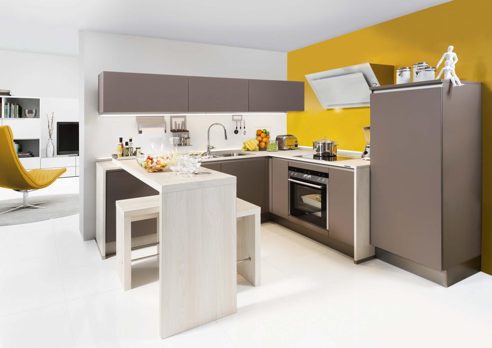 Pic of u shaped kitchen sharp home design - Nolte home studio ...