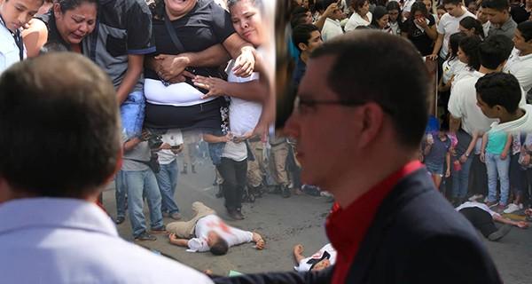 Jorge Arreaza ofrece enviar más asesinos a Nicaragua para ayudar a Daniel Ortega