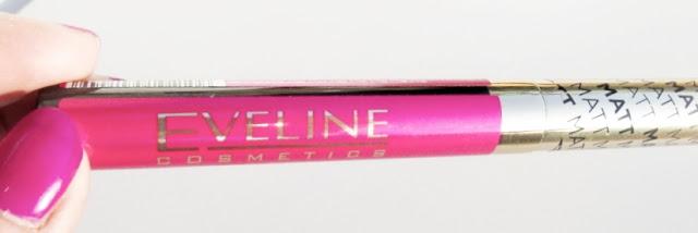 Eveline Velvet Matt Lip Cream - Wild Fuchsia 416 - recenzja