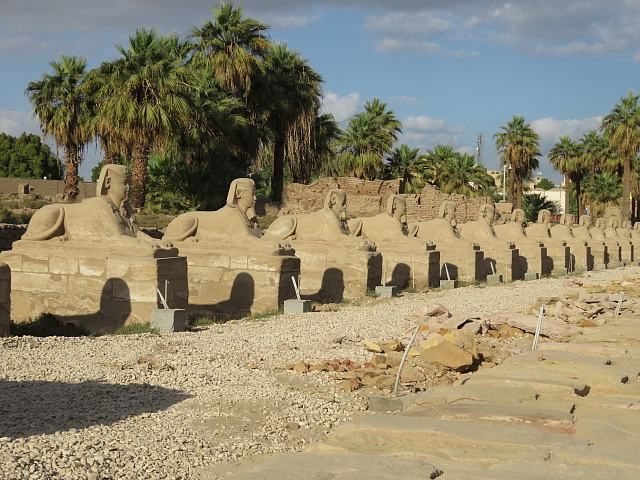 Avenue of Sphinxes Luxor Temple