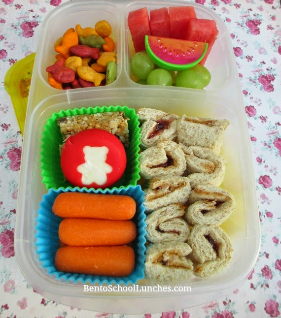 Quick and Easy roll ups, bento school lunch