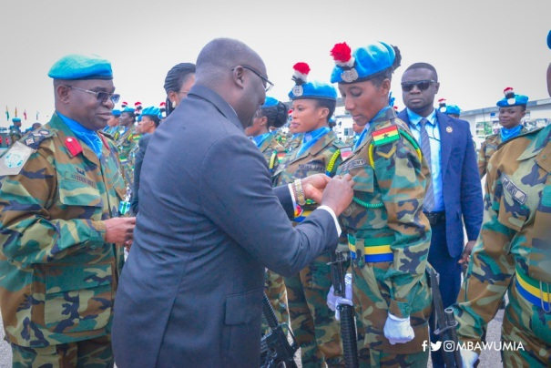 Keep Making Ghana Proud – VP Bawumia To Ghanaian Peacekeepers In Lebanon