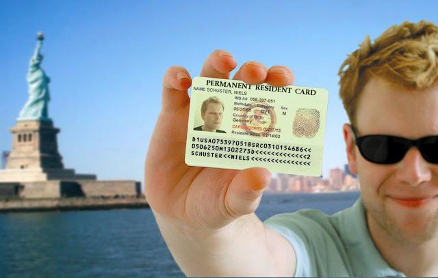 شرح كيفية دفع رسوم الجرين كارد 220 دولار الخاصة برسوم الهجرة - USCIS - GreenCard Fee